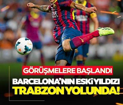Son dakika: Trabzonspor'a eski Barcelonalı! Cristian Tello için görüşmelere başladı...