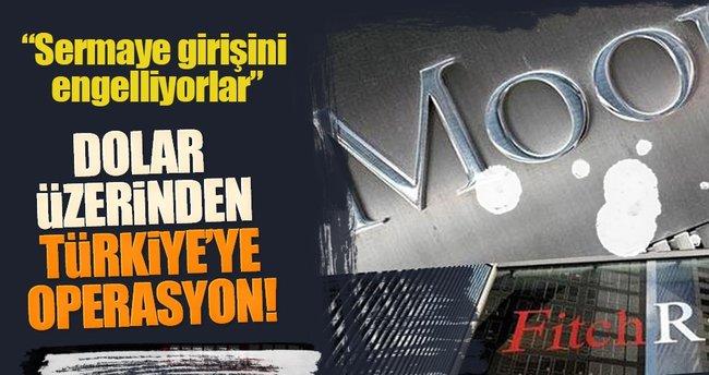 Dolar üzerinden Türkiye'ye operasyon!