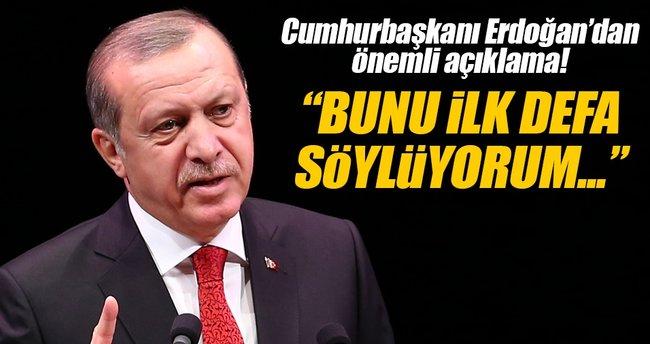 Erdoğan: Yıl sonuna kadar sabredelim sonra millete gidelim