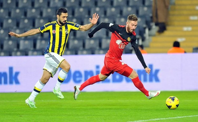 Fenerbahçe - Eskişehirspor maçının görüntüleri