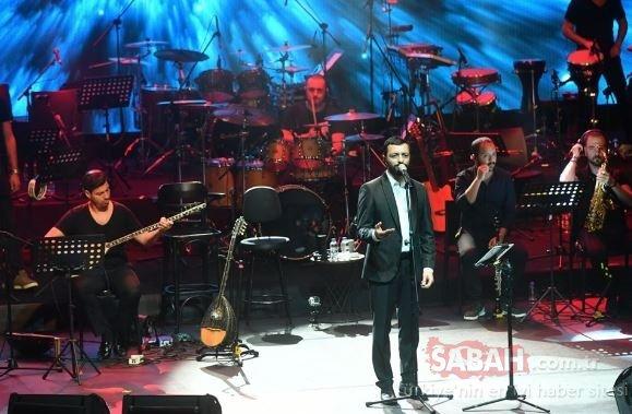 Harbiye'de Aşkın Nur Yengi rüzgarı…