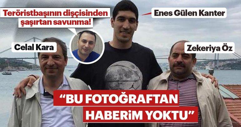 Dişçinin Zekeriya Öz, Celal Kara ve Enes Kanter fotoğrafından haberi yokmuş