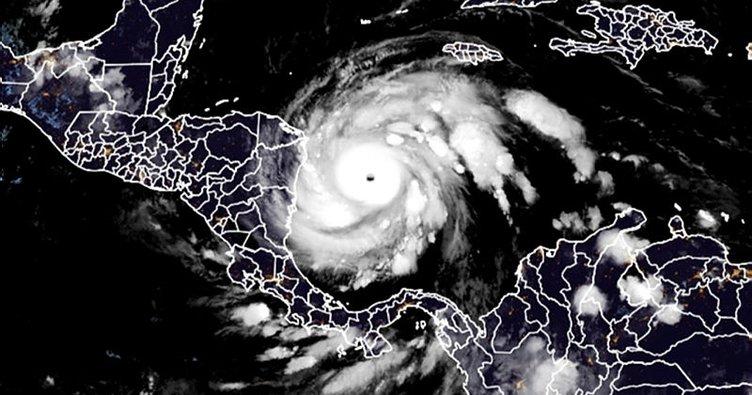 Iota Kasırgası'nın Orta Amerika'yı vurması bekleniyor