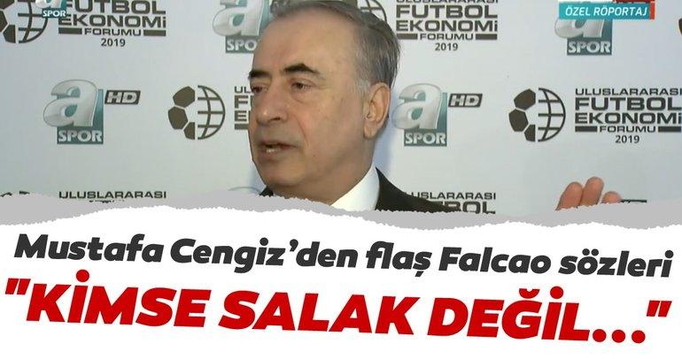 Mustafa Cengiz'den flaş Falcao sözleri