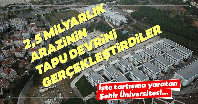 Başkan Erdoğan'dan flaş Şehir Üniversitesi açıklaması