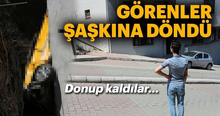 Son Dakika Haber: Kağıthane'de şaşkına çeviren kaza! Taksi 30 metreden aşağı uçtu...
