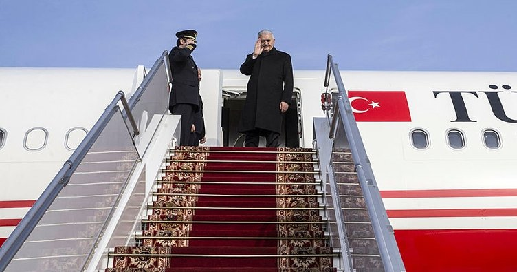 Son Dakika Haberi: Başbakan Yıldırım Almanya'ya geldi