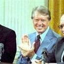 ABD Başkanı Jimmy Carter da tanık olarak anlaşmaya imza attı