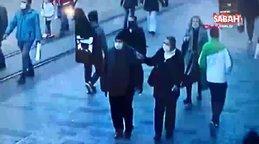 Taksim'de maske takmayan kadın polise zor anlar yaşattı! 'Şov yapıyorlar'