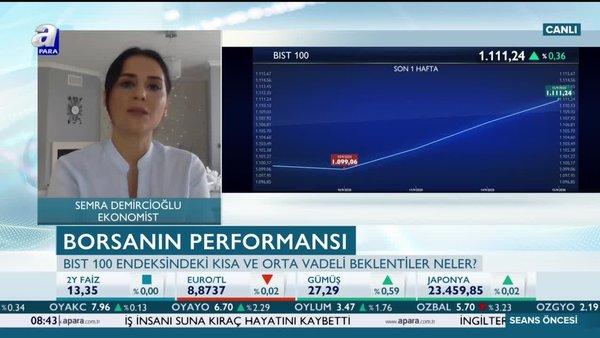 Ekonomist Semra Demircioğlu: Bankacılık endeksi BIST 100'e eşlik ederse kademeler hızlı yukarı yönlü geçilebilir