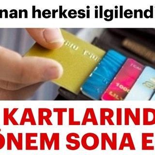 Kredi kartı kullananlar dikkat! BDDKdan kredi kartı açıklaması geldi!