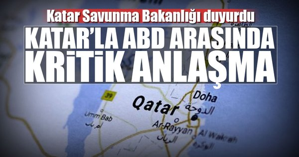 Katar'dan silah anlaşması