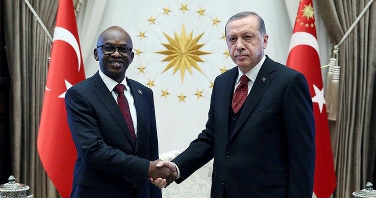 Cumhurbaşkanı Erdoğan, Nyamitwe'yi kabul etti!