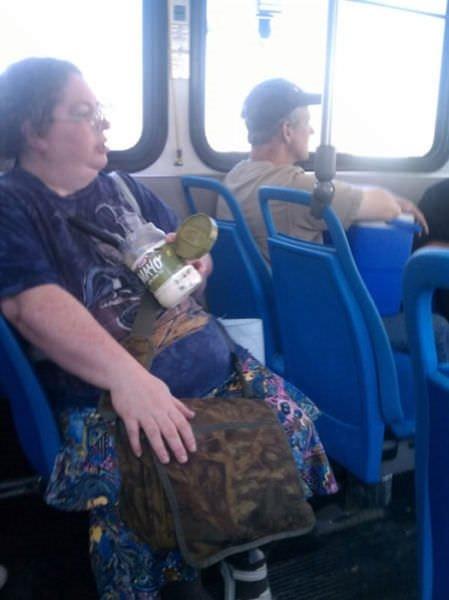 Toplu taşıma gariplikleri