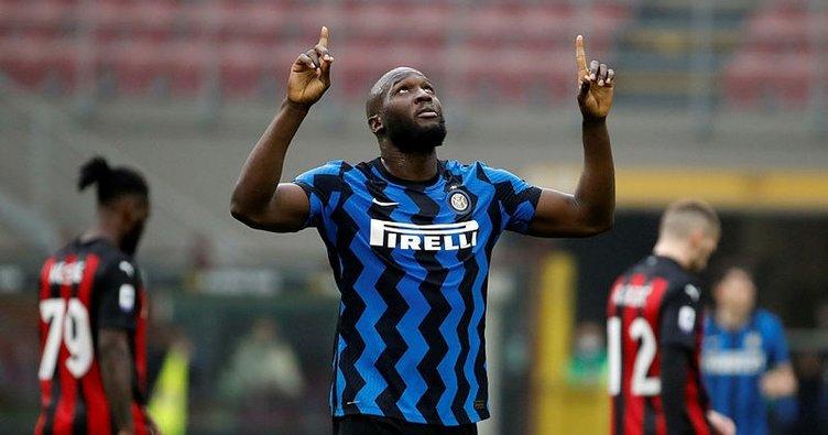 Inter derbide Milan'ı rahat geçti!
