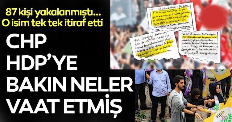 CHP VE HDP'nin kadro ittifakı