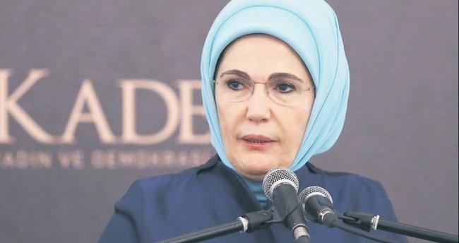 Emine Erdoğan: Mazlumların acısı gökkubbeyi inletiyor