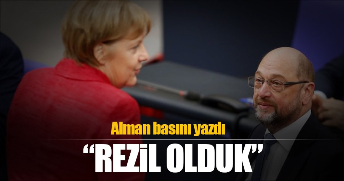 Alman basını yazdı: Dünyaya rezil olduk!
