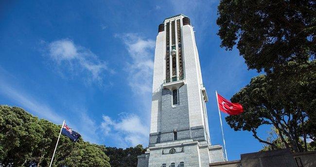 Yeni Zelanda'ya Türk Anıtı