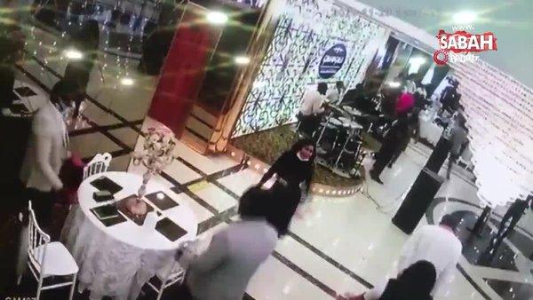 Düğün salonundaki pazar ayininden yeni görüntüler ortaya çıktı | Video