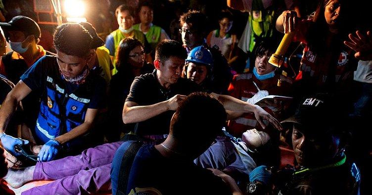 Filipinler'de deprem: 20 kişi kurtarıldı, 40 kişi enkaz altında