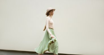 Yeniden: Pileli Etek Modası