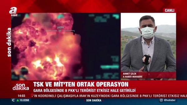 Son dakika! TSK ve MİT'ten ortak operasyon! 8 PKK'lı etkisiz hale getirildi | Video