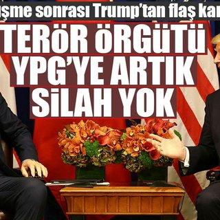 Bakan Çavuşoğlu: Trump artık YPG`ye silah desteği vermeyecek