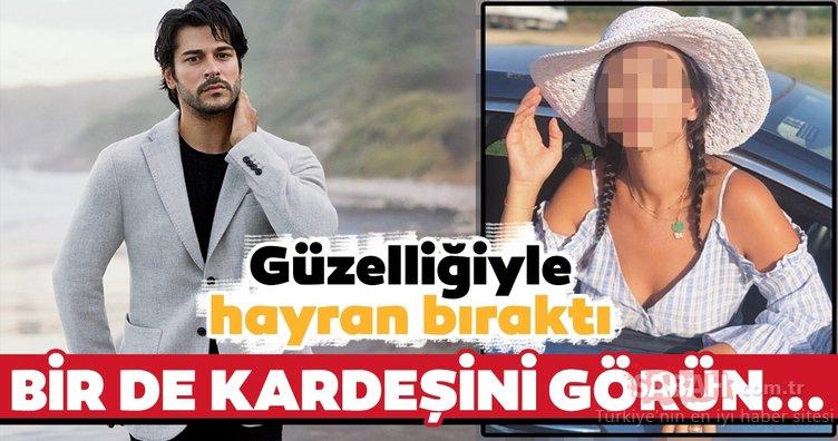 Diriliş Osman dizisinin başrol oyuncusu Burak Özçivit'in kardeşini gören inanamadı!