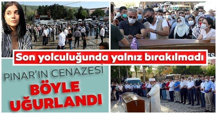 Son dakika haberler...Pınar Gültekin gözyaşları arasında son yolculuğuna uğurlandı.  Son yolculuğunda bölge halkı onu yalnız bırakmadı...