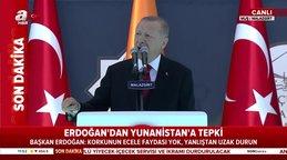 SON DAKİKA HABERİ...Cumhurbaşkanı Erdoğan'dan Malazgirt Zaferinin949. yılı kutlama töreninde önemli açıklamalar | Video