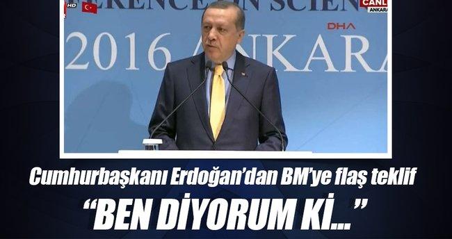 Erdoğan: BM'de 20 daimi üye olsun