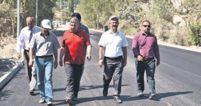 Bünyan'da sıcak asfalt çalışmalarına başlandı