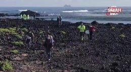 Kanarya Adaları açıklarında göçmen teknesi battı: 7 ölü   Video