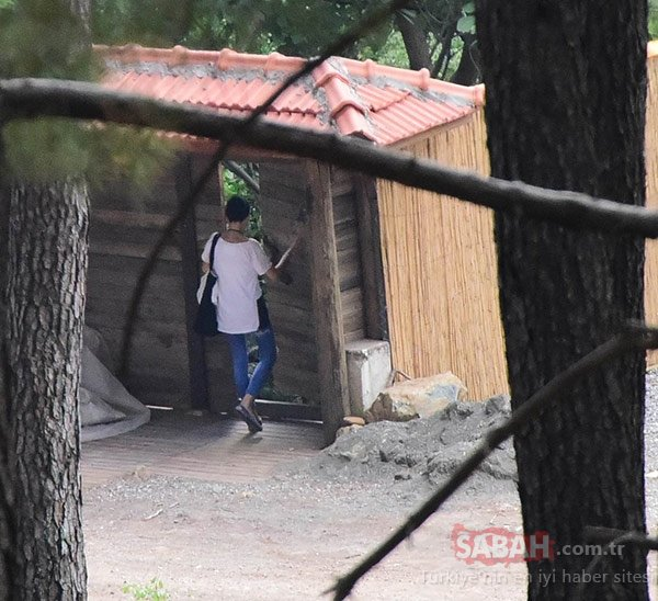 Güzel oyuncu Özgü Namal yaşadığı köyde ilk kez ...