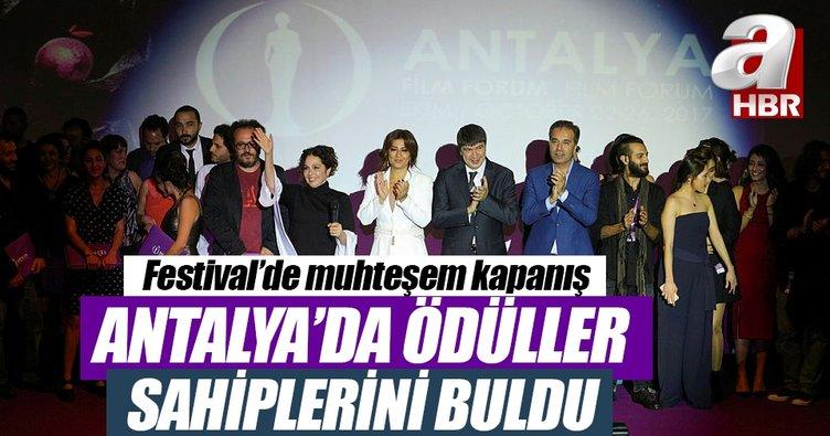 54. Uluslararası Antalya Film Festivali'nde ödüller belli oldu