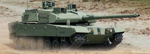 Türk Tankı Altay 2016 yılının sonunda kullanıma hazır olacak