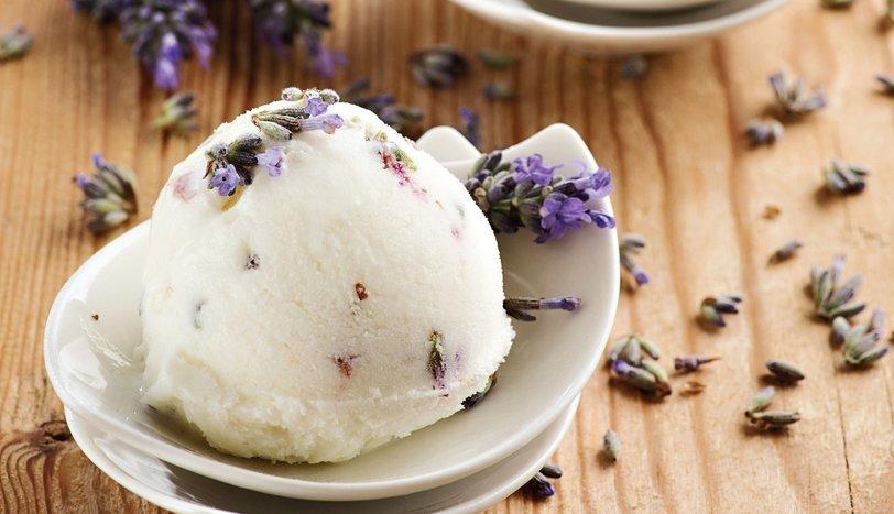 Lavantalı Dondurma Tarifi