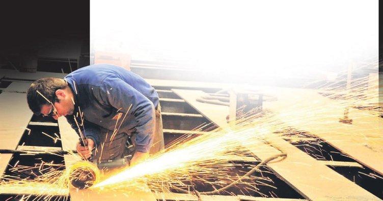 Ekonominin lokomotifi sanayi yatırımları oldu