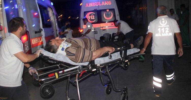 Karaman'da zincirleme kaza: 12 yaralı