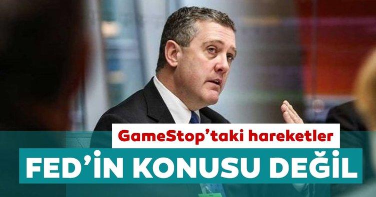 St. Louis Fed Başkanı Bullard: GameStop'taki aşırı hareketler Fed'in bir konusu değil