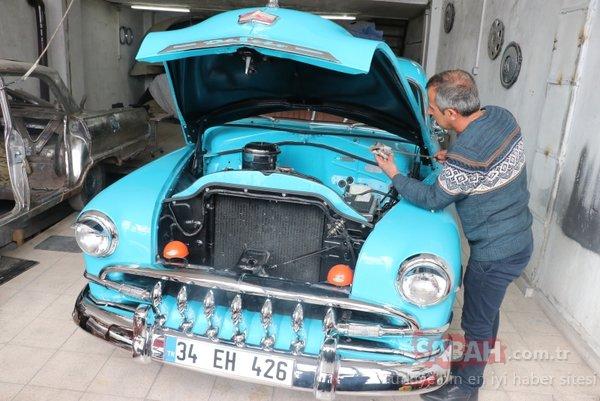 Klasik otomobillere baba ve oğuldan usta dokunuşlar!