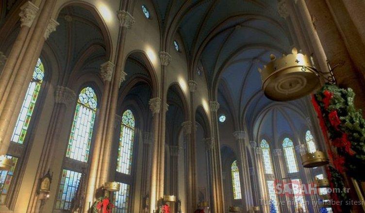 İstanbul'un en gözde Katolik kilisesinde büyük kriz!