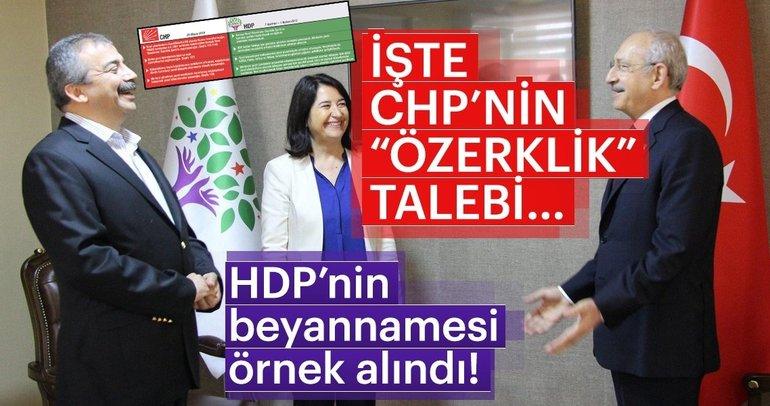 CHP, HDP'den 'bölücülüğü' kopyaladı