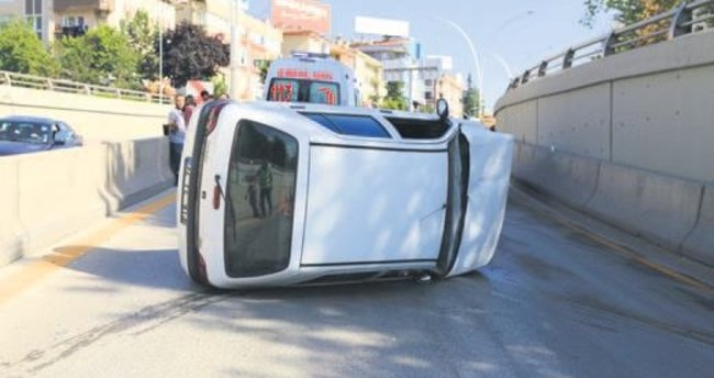 Bayram kazası: 3'ü ağır 7 yaralı