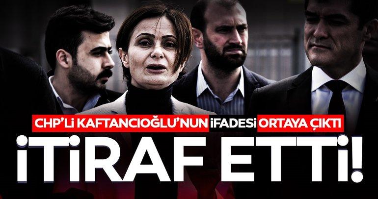 Canan Kaftancıoğlu 'Katil devlet' tweetini de kabul etti