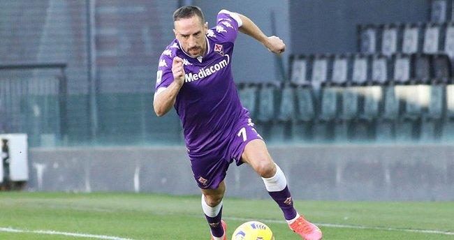 Son dakika: Franck Ribery Fiorentina'ya veda etti