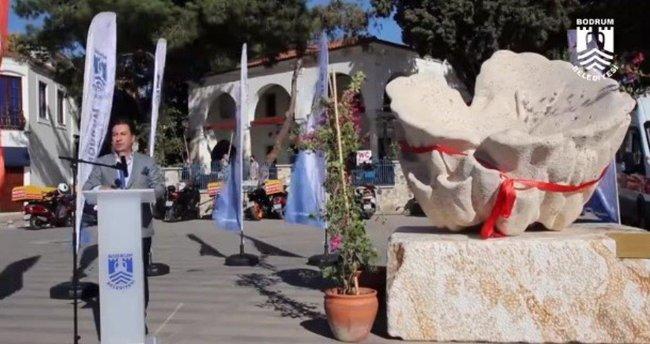 Bodrum Belediyesi'nin heykel açılış töreni!