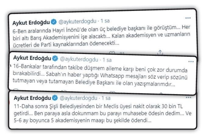 Son dakika | CHP'li belediyeleri haraca bağlayan Aykut Erdoğdu kirli çarkı itiraf etti