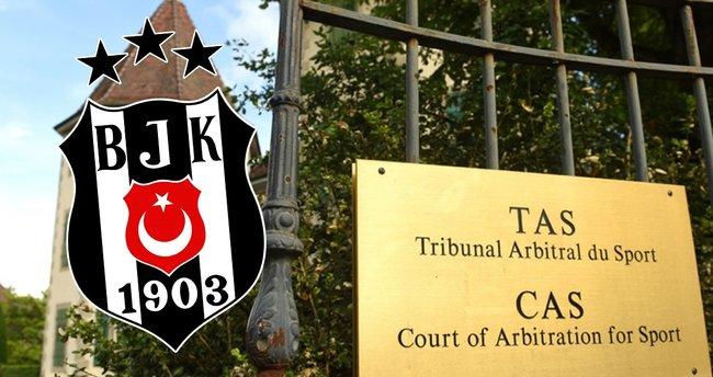 CAS'tan Beşiktaş'a ret! Yüzde 15 gelir kesintisi...